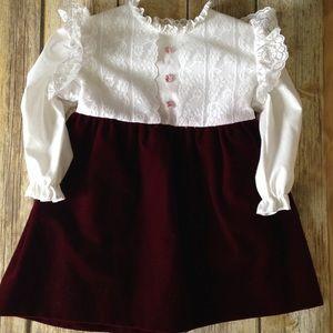 Other - Vintage Lil' Airess Toddler Girl Dress